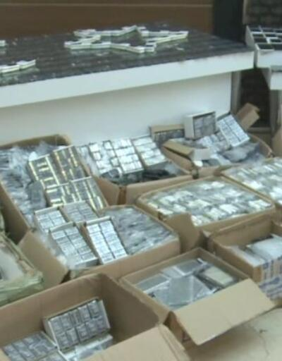 10 bin 634 adet kaçak cep telefonu ele geçirildi