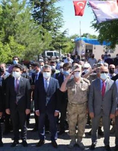 Terör örgütü PKK tarafından katledilen 12 vatandaş için anma töreni