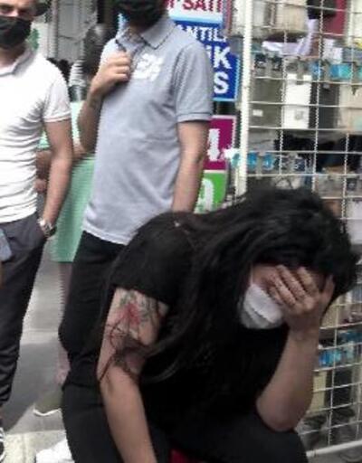 Birlikte yaşadığı kadını dövdü, 5'inci kattan atlamak istedi