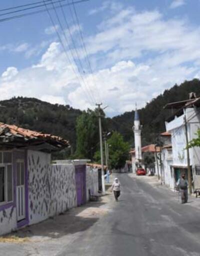 Muğla'da evlerin duvarları lavanta figürleriyle süslenen mahalle fotoğraf tutkunlarını bekliyor