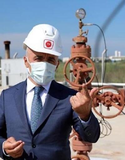 Vali Bilgin, Misinli-2 petrol kuyusunda incelemelerde bulundu