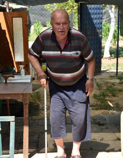 Gaspçı dehşeti: Kendini eve kilitledi