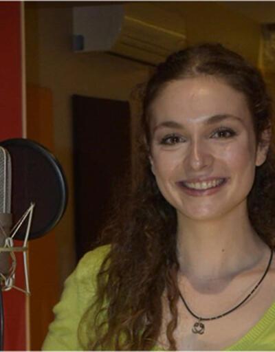 'Aşkın Tarifi' için stüdyoya girdi