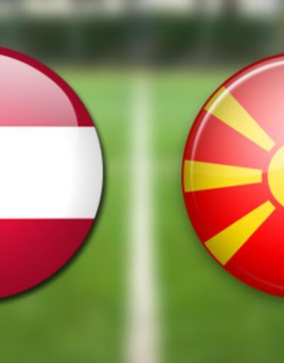 Avusturya Makedonya maçı canlı yayın ne zaman, saat kaçta, hangi kanalda?   EURO 2020