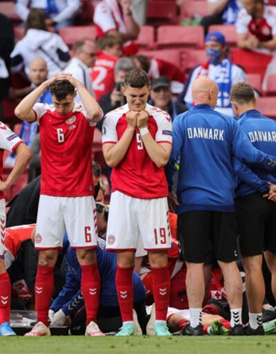 Danimarka - Finlandiya maçında ölümden dönen Christian Eriksen'den mesaj