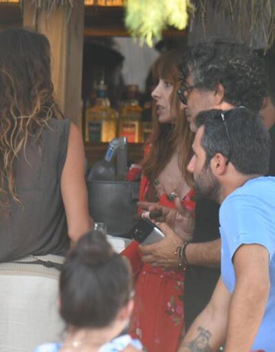 Nur Fettahoğlu eski eşiLevent Veziroğlu ile birlikte tatile çıktı