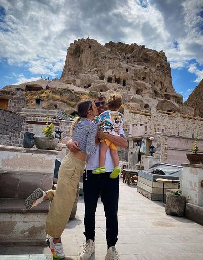 İbrahim Çelikkol eşiyle romantik bir kare paylaştı