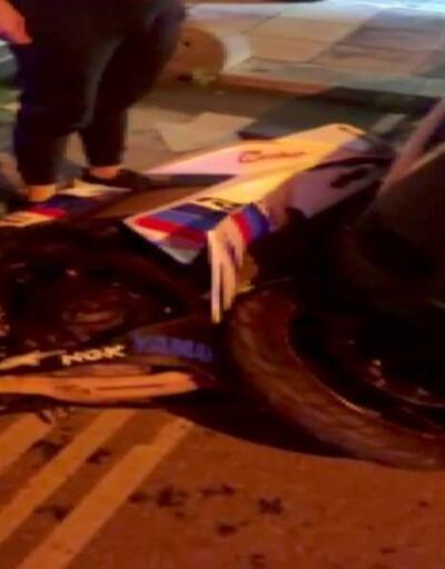 Taksi ile 2 motosiklet çarpıştı, 1 kişi öldü, 2 kişi ağır yaralandı