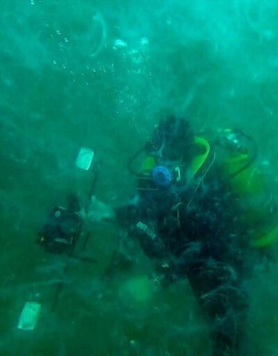 Marmara Denizi'nin dibindeki yoğun müsilaj görüntülendi