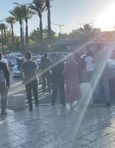 Filistin'de Hz. Muhammed'e hakarete protesto