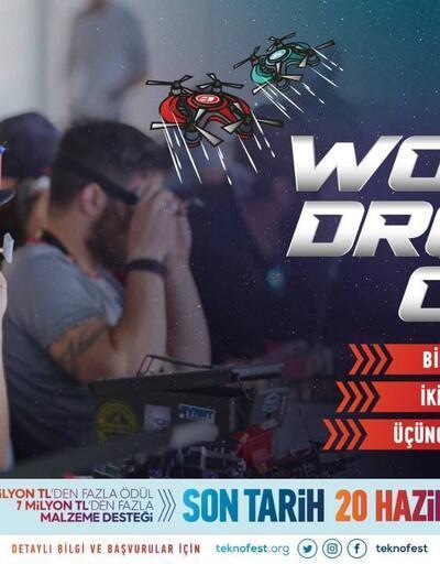 Dünyanın en iyi drone yarışçıları  dünyanın en büyük festivali TEKNOFEST'te yarışmak için gün sayıyor