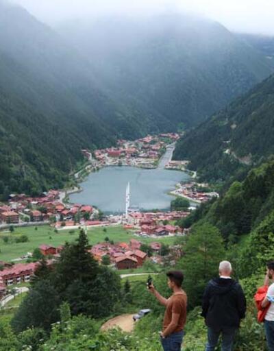 Trabzon'un 'doğa harikası' ziyaretçilerini bekliyor