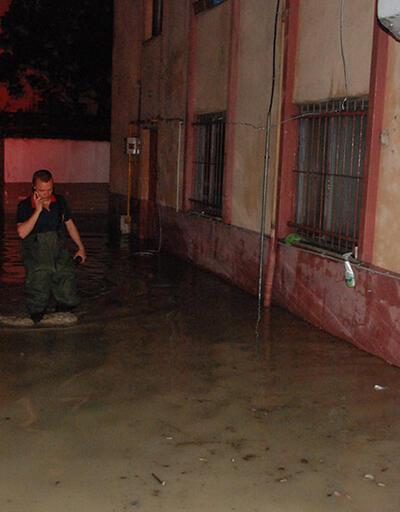 Karadeniz'de şiddetli yağış