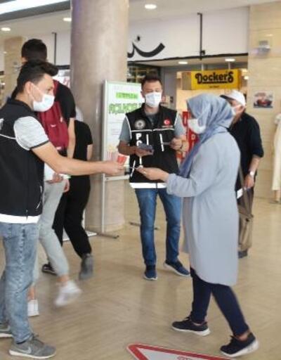 Çankırı'da AVM'de uyuşturucunun zararları anlatıldı