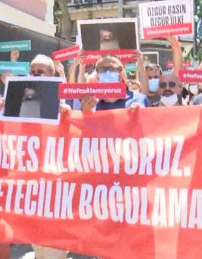Gazeteciye polis müdahalesi 3 ilde protesto edildi
