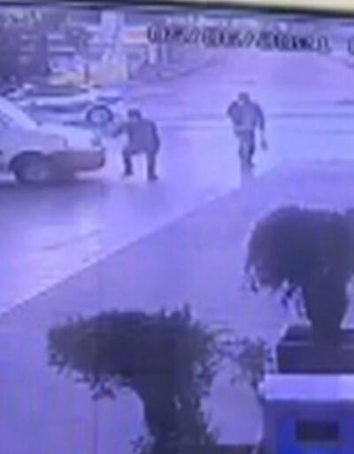 2 grup çatıştı, benzin istasyonu görevlisi yaralandı