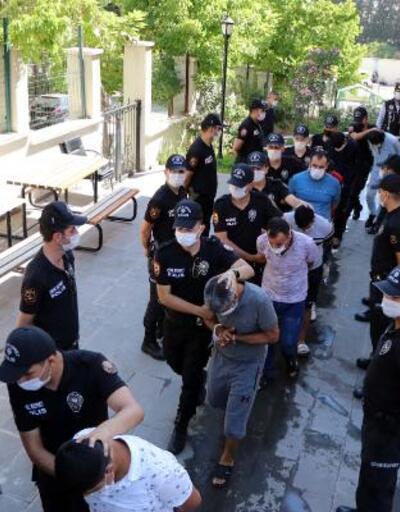'Vatan' operasyonunda gözaltı 270 oldu; 55 şüpheli adliyede