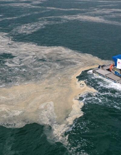 Bakan Kurum: Marmara Denizi'nde 9 bin 394 metreküp müsilajı temizledik
