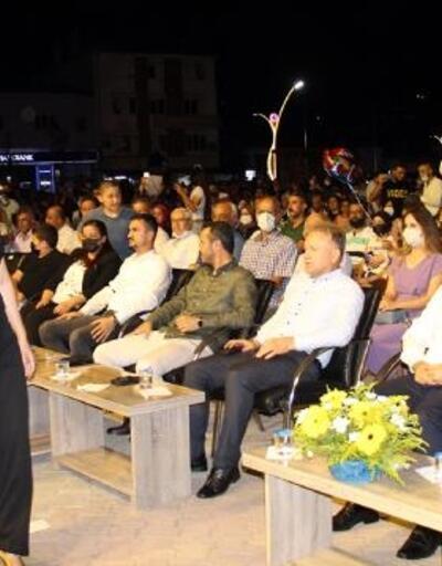 Bucak'ta açık hava konseri