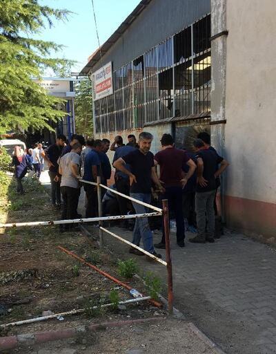 Bucak'ta iş kazası: 1 yaralı