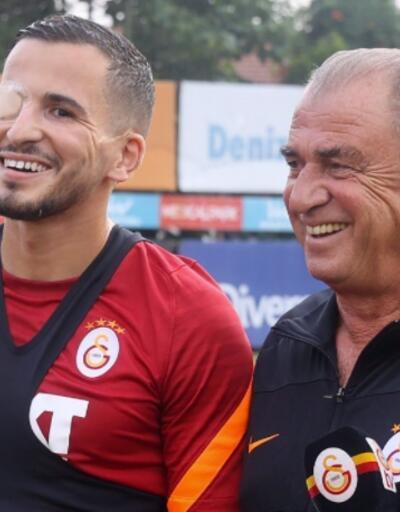 Galatasaray'da Omar Elabdellaoui sevinci