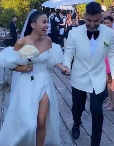 Zeynep Bastık ve Tolga Akış evlendi!