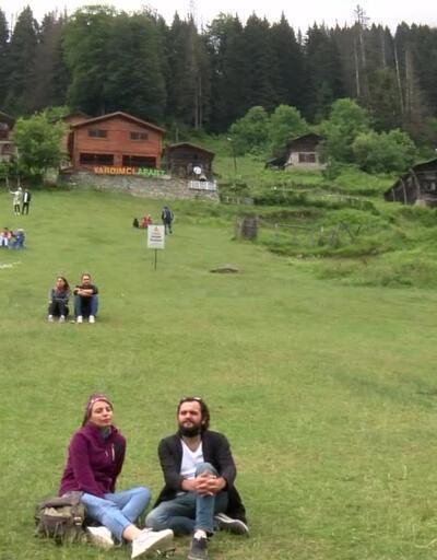 Ayder'de doğa tatili