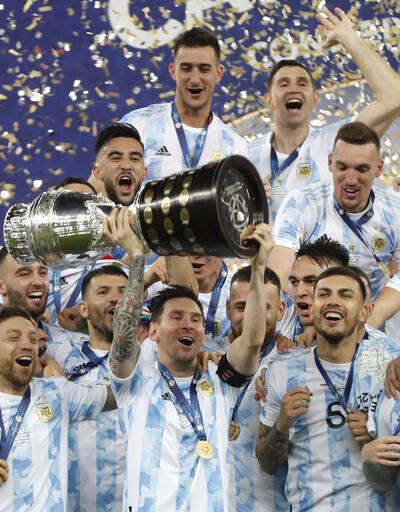 Arjantin 1-0 Brezilya MAÇ ÖZETİ