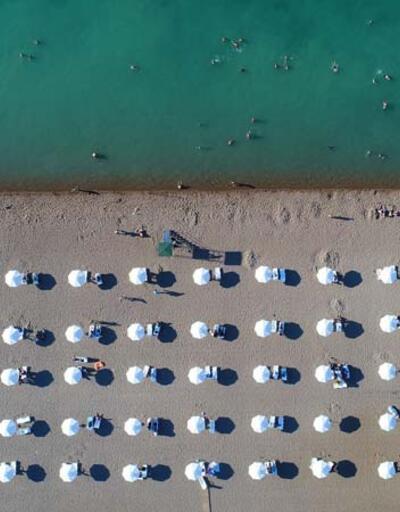 Konya Ovası'nda plaj keyif