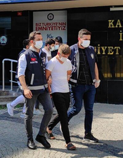Kadıköy'de kilise duvarının üzerinde oynadığı iddia edilen şüpheliler, adliyeye sevk edildi