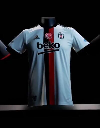 Beşiktaş'ın yeni formaları tanıtıldı