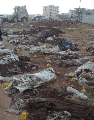 Son dakika... Tüyler ürperten fotoğraflar! Afrin'de PKK'nın katliamı gün yüzüne çıktı