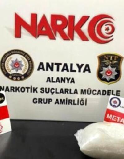 Otogarda uyuşturucuyla yakalandı