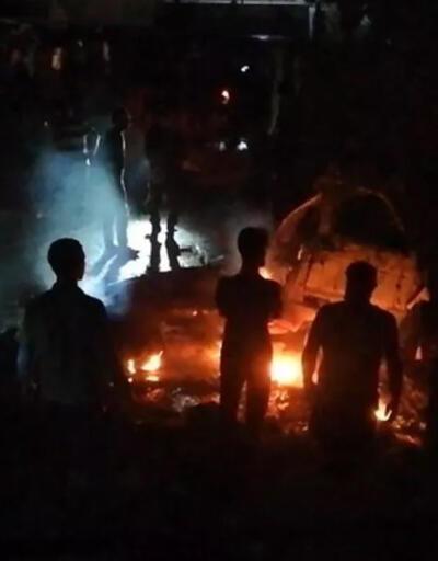 Terör örgütü yine sivilleri hedef aldı! Afrin'e füzeli saldırı