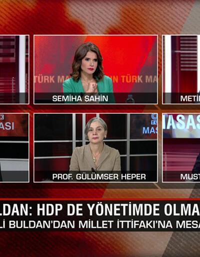 """HDP'den Millet İttifakı'na mesaj, """"PKK'ya nasıl mesafe koyalım"""" açıklaması ve CHP'den """"Doğu Masası"""" atağı CNN TÜRK Masası'nda tartışıldı"""