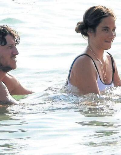 Denizden çıkmak istemedi