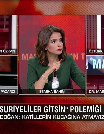 """""""Suriyeliler gitsin"""" ve """"Kuvayi Milliye ruhu"""" polemikleri ile CHP'li Savaş'ın tartışılan çıkışı CNN TÜRK Masası'nda konuşuldu"""