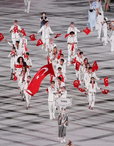 Son dakika... Tokyo 2020 Olimpiyat Oyunları'na görkemli açılış