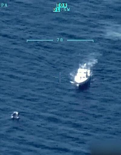 İçinde 45 kişinin olduğu göçmen teknesi battı
