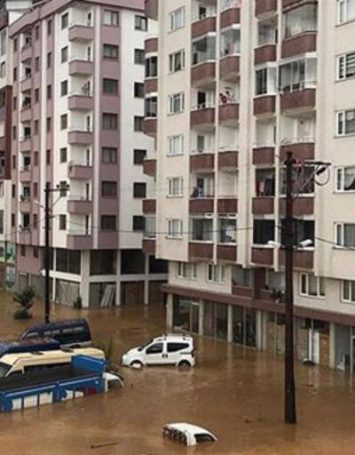 Rize'de 112 hane geçici olarak tahliye edildi