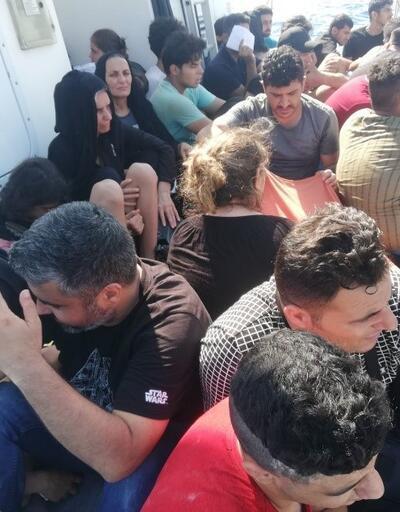 Muğla'da 56 düzensiz göçmen yakalandı
