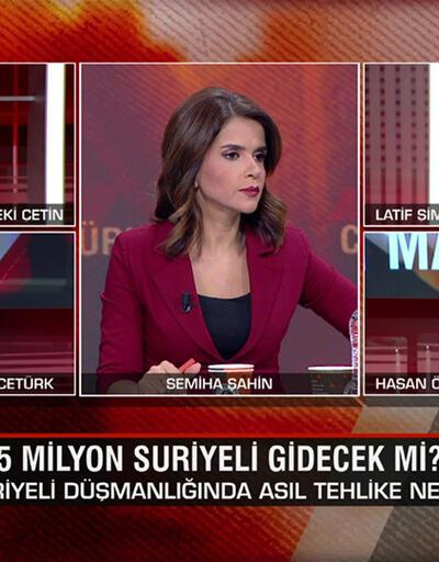 Suriyelilerden sonra sıra kimin? 3,5 milyon Suriyeli gidecek mi? CHP lideri neden beka sorunu dedi? CNN TÜRK Masası'nda konuşuldu