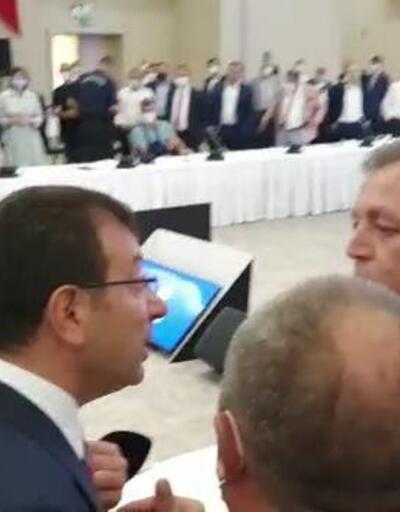 Ekrem İmamoğlu ile Bakanlık görevlisi tartıştı