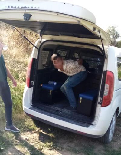 20 kilometrelik kovalamacada çalıntı araçla yakalandılar