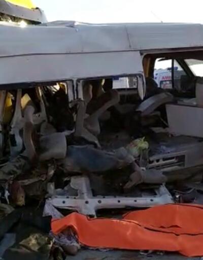 Korkunç kaza: 3 tarım işçisi hayatını kaybetti, 16 yaralı