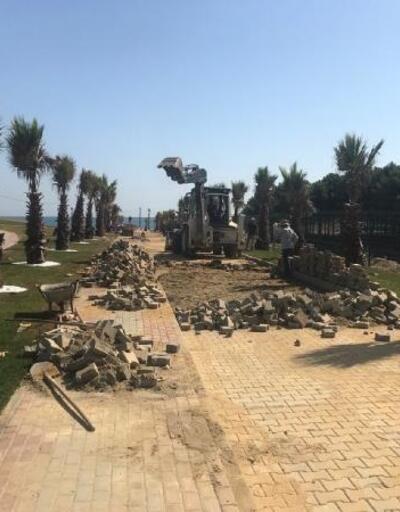 Eyüpsultan Belediyesi, halk plajını hazırlıyor
