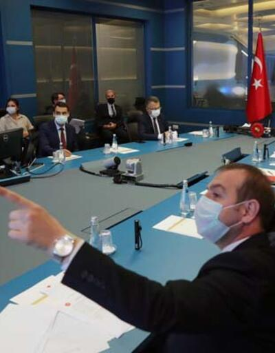 Cumhurbaşkanı Erdoğan, Kriz Merkezi'nde