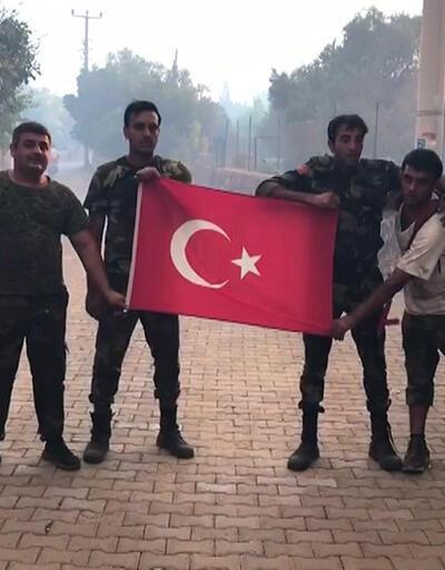Azerbaycanlı ekiplerin Türk bayrağı hassasiyeti