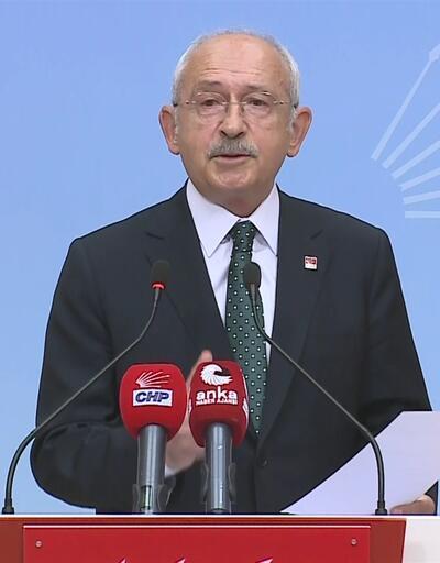 CHP lideri Kılıçdaroğlu basın toplantısı düzenledi