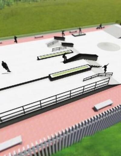 Eyüpsultan'a bin 385 metrekarelik kaykay parkı yapılıyor